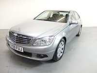 2009 MERCEDES-BENZ C CLASS 1.6 C180 KOMPRESSOR BLUEEFFICIENCY SE 4d 156 BHP £4990.00