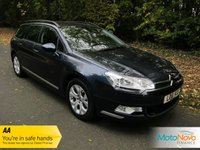 USED 2011 61 CITROEN C5 2.0 VTR PLUS HDI NAV 5d 160 BHP FANTASTIC VALUE ONE OWNER CITROEN C5 DIESEL ESTATE WITH A GREAT SPEC INCLUDING SATELLITE NAVIGATION, CLIMATE CONTROL, CRUISE CONTROL, ALLOY WHEELS AND CITROEN SERVICE HISTORY