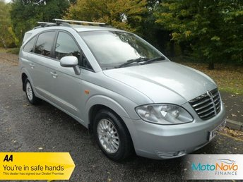 View our SSANGYONG RODIUS