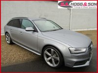 "2015 AUDI A4 2.0 TDI AVANT S LINE 5dr 190 BHP ""TOTALLY AS NEW"" £17495.00"