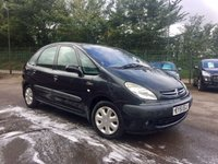 2001 CITROEN XSARA PICASSO 2.0 PICASSO SX HDI 5d PART EXCHANGE TO CLEAR £1000.00