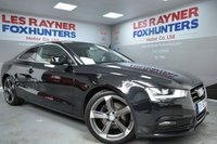 USED 2013 62 AUDI A5 2.0 TFSI 2d 208 BHP 19 Inch Alloys , Privacy glass , Air con