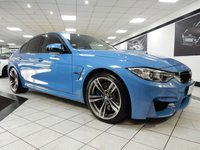 USED 2016 65 BMW M3 M3 DCT 426 BHP HEAD UP H/K BMW SERVICE PACK