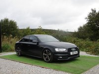 USED 2014 14 AUDI A4 2.0 TDI S LINE BLACK EDITION START/STOP 4d AUTO 148 BHP