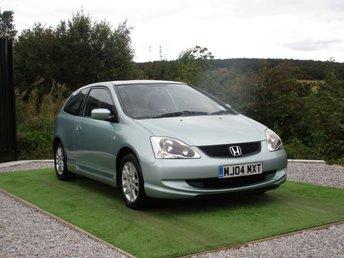 2004 HONDA CIVIC 1.6 SE I-VTEC 3d 110 BHP £950.00