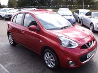 USED 2013 63 NISSAN MICRA 1.2 ACENTA 5d 79 BHP ***Excellent economy - reliable 1st car  - Low tax / insurance - Long MOT***