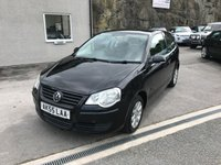 USED 2005 55 VOLKSWAGEN POLO 1.4 SE 3d 74 BHP PART X TO CLEAR ** FULL SERVICE HISTORY **
