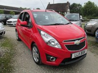 USED 2011 11 CHEVROLET SPARK 1.2 LT 5d 80 BHP £30 TAX EXCELLENT FUEL ECONOMY