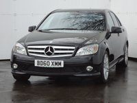 USED 2010 60 MERCEDES-BENZ C CLASS 2.1 C220 CDI BLUEEFFICIENCY SPORT 4d 170 BHP