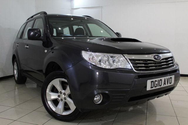 View our 2010 10 SUBARU FORESTER 2.0 D XC 5DR 147 BHP