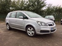 USED 2007 57 VAUXHALL ZAFIRA 1.6 CLUB 16V 5d PART EXCHANGE TO CLEAR