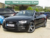 USED 2012 62 AUDI A5 1.8 TFSI S LINE S/S 2d 170 BHP Full Service History