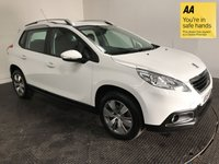 USED 2015 15 PEUGEOT 2008 1.2 PURE TECH ACTIVE 5d 82 BHP FSH-1 OWNER-BLUETOOTH-ALLOYS-A/C