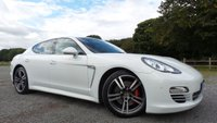 USED 2013 13 PORSCHE PANAMERA 3.0 PLATINUM EDITION D V6 TIPTRONIC 5d AUTO 250 BHP TAILOR MADE FINANCE PACKAGES, X2 KEYS, PORSCHE HISTORY, NAVIGATION, BLUETOOTH HANDSFREE AND STREAM, FULL HEATED BLACK LEATHER INERTIOR WITH HEATED STEERING WHEEL, POWER TAILGATE, BOSE SURROUND SOUND
