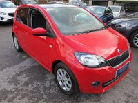 2015 SKODA CITIGO 1.0 SE L G-TECH MPI 5d 59 BHP + NAV + PAN ROOF + 1 OWNER £6750.00