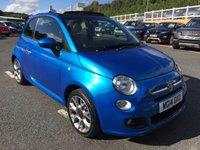 2014 FIAT 500 1.2 C S 3d 69 BHP £8499.00