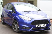 USED 2016 16 FORD FIESTA 1.6 ST-3 3d 180 BHP