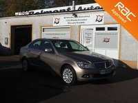 USED 2008 08 MERCEDES-BENZ C CLASS 2.1 C220 CDI ELEGANCE 4d 168 BHP Bluetooth
