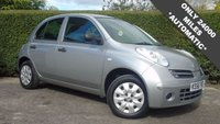 2007 NISSAN MICRA 1.2 INITIA 5d AUTO 80 BHP **ONLY 24000 MILES** EXCELLENT CONDITION THROUGHOUT £2688.00
