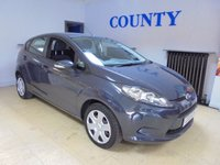 USED 2011 11 FORD FIESTA 1.2 EDGE 5d 59 BHP * SERVICE HISTORY * LONG MOT *