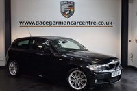USED 2010 10 BMW 1 SERIES 2.0 118I M SPORT 3d 141 BHP + BMW SERVICE HISTORY + SPORT SEATS + RAIN SENSORS + LIGHT PACKAGE + AIR CONDITIONING + 17 INCH ALLOY WHEELS +