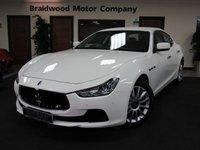 2014 MASERATI GHIBLI 3.0 DV6 4d AUTO 275 BHP £27975.00