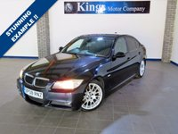 USED 2008 08 BMW 3 SERIES 2.0 320D EDITION M SPORT 4dr  Full Leather, BMW I-Drive Sat Nav,  Looks & Drives Like 70,000