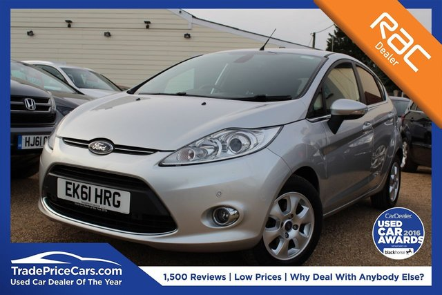 View our 2011 61 FORD FIESTA 1.6 TITANIUM ECONETIC TDCI 5d 94 BHP
