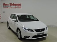 USED 2014 64 SEAT LEON 1.6 TDI SE TECHNOLOGY 5d 105 BHP with Sat Nav