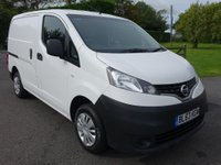 USED 2014 63 NISSAN NV200 Acenta 1.5Dci 90Ps Popular Model, Very Clean Example!