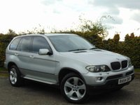 USED 2004 54 BMW X5 3.0 D SPORT 5d AUTOMATIC * SATELLITE NAVIGATION *