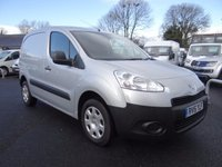 USED 2015 15 PEUGEOT PARTNER 850 L1 Swb 1.6 Hdi 90Ps Only 14000 Miles! Very Clean Example