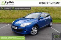 USED 2011 11 RENAULT MEGANE 1.5 DYNAMIQUE TOMTOM DCI ECO 5d 110 BHP FULL SERVICE HISTORY, LOW MILES, BUILT IN TOM TOM.
