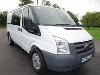 USED 2008 58 FORD TRANSIT Mwb Dog Transporting & Crew Van 2.2 Tdci 115ps Ex MOD Dog Transportation Van, With Four Cages And Removable 3 Seater Rear Seat