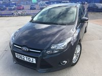 USED 2012 03 FORD FOCUS 1.0 ZETEC 5d 124 BHP
