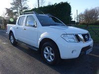 USED 2014 64 NISSAN NAVARA 2.5 DCI TEKNA 4X4 SHR DCB 1d AUTO 188 BHP Top Of Range Model With Every Extra Including Optional Sat Nav & Reverse Camera, Very Clean Low Mileage Example, Viewing Highly Recommended!