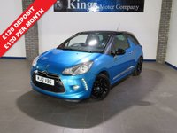 USED 2012 12 CITROEN DS3 1.6 E-HDI DSTYLE 3dr £0 Zero Road Tax, Low Insurance....Bluetooth, Black Roof & Wheels...