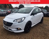 USED 2015 15 VAUXHALL CORSA LIMITED EDITION Vauxhall Warranty Until 27/3/18 - Immaculate Condition - Full Vauxhall History (2 Services) - Black Roof and Wheels