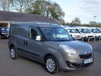 USED 2016 66 VAUXHALL COMBO L1 Swb Sportive 5 Seater Double Cab Van 1.6 Cdti 105Ps High Specification Crew Van In Popular  Pepperdust Metallic