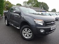 USED 2015 15 FORD RANGER 4x4 Wildtrak Double Cab 3.2tdci 200Bhp Top Of Range Wildtrak Auto