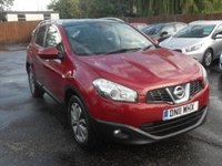 2011 NISSAN QASHQAI 1.5 DCI TEKNA  5d SAT NAV AND PAN ROOF £7000.00