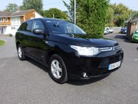 USED 2013 63 MITSUBISHI OUTLANDER Gx 4work Commercial 2.3 DI-D 150ps Low Mileage with Full Service History