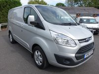 USED 2015 15 FORD TRANSIT CUSTOM 270 Limited L1 Swb  2.2 Tdci 115Ps Top Of Range Model With Low Miles