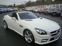 USED 2012 62 MERCEDES-BENZ SLK 1.8 SLK200 BLUEEFFICIENCY AMG SPORT 2d 184 BHP Black leather heated seats, AMG Body & Alloys. Just serviced