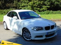 USED 2010 60 BMW 1 SERIES 2.0 123D M SPORT 2d 202 BHP * 128 POINT AA INSPECTED *