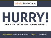 USED 2012 VAUXHALL ANTARA 2.2 EXCLUSIV CDTI 2WD S/S 5d 161 BHP