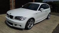 2007 BMW 1 SERIES 2.0 118D M SPORT 3d 141 BHP £3985.00