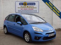 USED 2007 07 CITROEN C4 PICASSO 1.6 VTR PLUS HDI 5STR EGS 5d AUTO 108 BHP Full Dealer History Dual A/C 0% Deposit Finance Available
