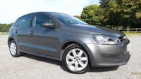 USED 2010 60 VOLKSWAGEN POLO 1.2 SE 5d 70 BHP F/S/H 8 X SERVICE STAMPS,ALLOYS, AIR-CON,REMOTE CENTRAL LOCKING, CD PLAYER,2 X KEYS,NATIONWIDE DELIVERY SERVICE