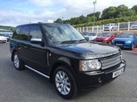 2006 LAND ROVER RANGE ROVER 4.2 V8 SUPERCHARGED 5d AUTO 391 BHP £14750.00